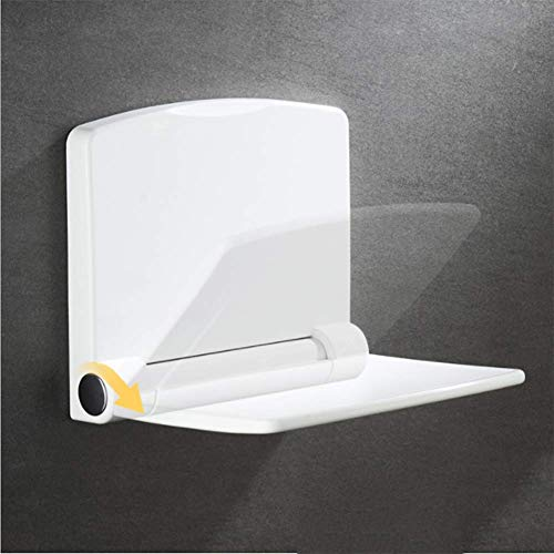 QTMHT Asiento Ducha Abatible Silla Plegable, Taburete De Seguridad para Baño Banco...