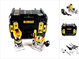 DeWalt DCW604NT-XJ 18V XR 8mm Plunge/Fixed Base Router Bare