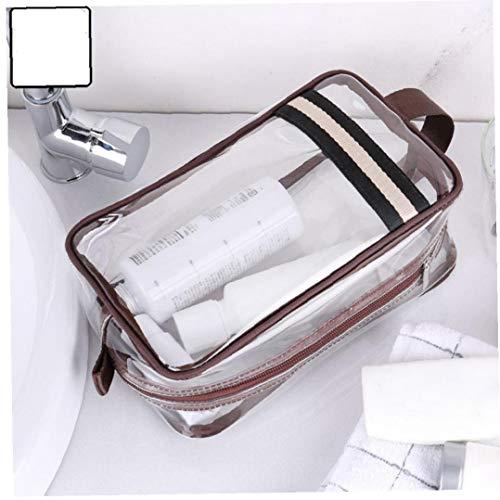 Sacs Transparents Pvc Cosmétiques 1pc Stockage Professionnel De Toilette Portable Make Up Pouch Organisateur Voyage Couleur Aléatoire