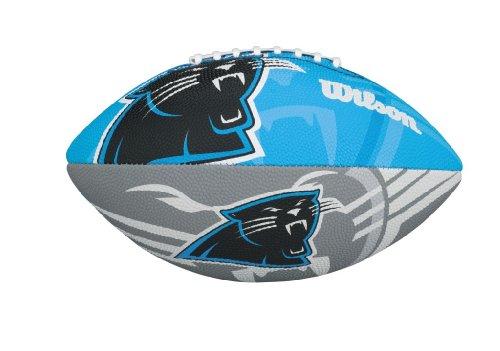 WILSON NFL Junior Team Logo Fussball (Carolina Panthers)