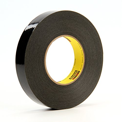 Scotch Solvent Resistant Masking Tape 226, Black, 1 in x 60 yd, 10.6 mil