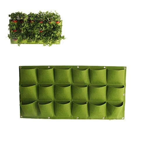 Einsgut Pflanzbeutel Tasche Tuch Wandbehang Blumentopf Filz Pflanze Tasche Tasche Pflanzbeutel Hängen Wand Blumen Und Pflanzen