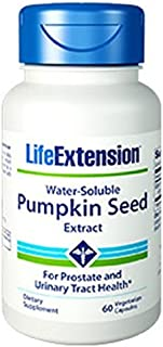 Water-Soluble Pumpkin Seed Extract 60 Vegetarian Capsules-Pack-3