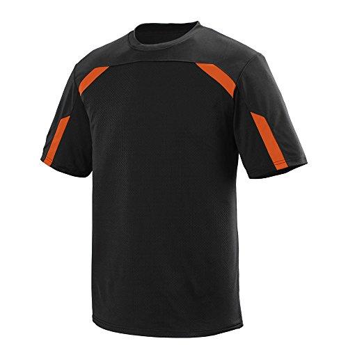 Augusta Sportswear Boys Avail Crew L Black/Orange
