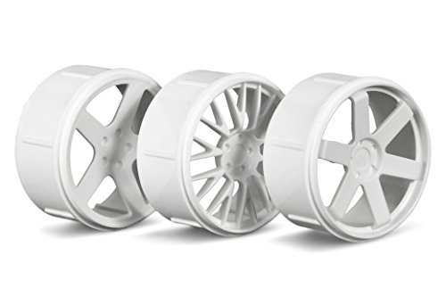 Wheel Set, White: RS4 Micro by HPI Racing