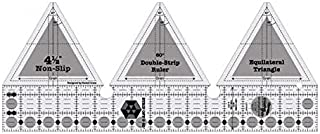 Creative Grids 60 Degree Double Strip Quilting Ruler Template CGRDBS60
