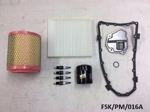 Wix Petite Iridium kit d'entretien Calibre PM 2.0l & 2.4l 2011–2012 CVT Transmission