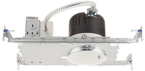 WAC Lighting HR-LED418-N-W LEDme 4-Inch Recessed Downlight - New Construction - Non-Ic Housing - 3000K