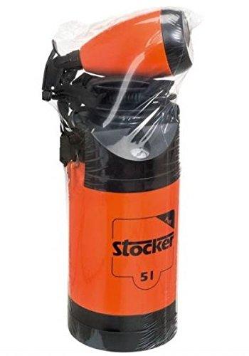 Stocker Bomba a presión con manómetro de 5 litros + pulverizador de 1 litro.