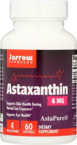 Jarrow Formulas Astaxanthin, Supports Eye Health, 4 mg,60 Softgels