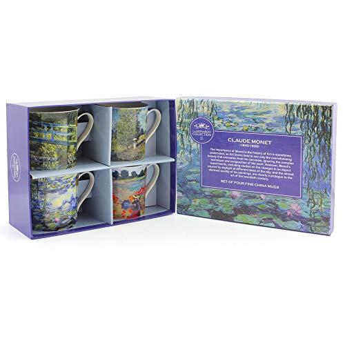 Lesser & Pavey Monet Tazze, Set di 4, Multicolore
