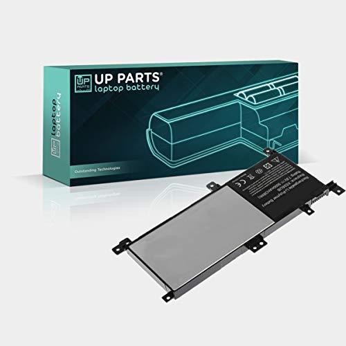 UP PARTS Marchio e Azienda Italiana UP-I-UX556 Batteria per Notebook 7,6V, 5000mAh, 38,0Wh Compatibile con ASUS C21N1509, F556U, X556U, K556U, A556U Compresa di Tools