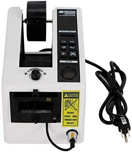 Vogvigo M-1000 Dispensador de Cinta Automático Microordenador del Cortador de Corte Adhesivo de la Cinta 7-50 mm de Cintas de Ancho Dispensador de Cinta de Ajuste de Longitud de 20-999 mm