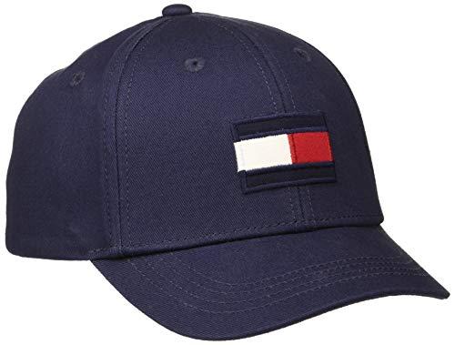 Tommy Hilfiger Unisex Baby Big Flag Cap Kappe, Blau (Blue Cbk), Large