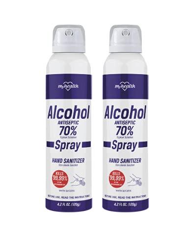 MyHealth Hand Fees free!! Sanitizer 2 Units Spray 4.2 oz - each Mail order cheap Fl