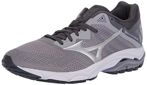 Mizuno Women's Wave Inspire 16 Road Running Shoe, Vapor Blue-Silver, 8.5 B US