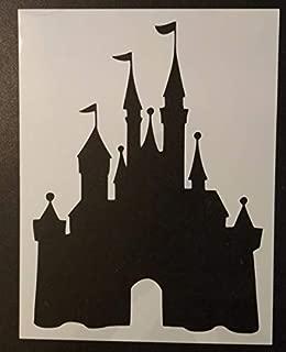 Custom Stencil Castle 8.5 x 11