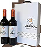 Estuche de 2 botellas de vino 20 Aldeas