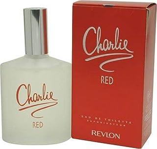 Charlie Red by Revlon for Women Eau De Toilette Spray 3.4 Ounce