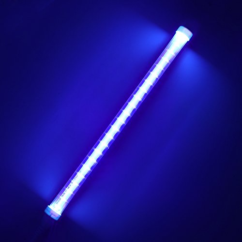 ShangSky Tubo de luz ultravioleta, lámpara LED ultravioleta germicida AC 85-265V, aire...