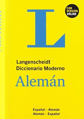 DICCIONARIO MODERNO ALEMÁN/ESPAÑOL