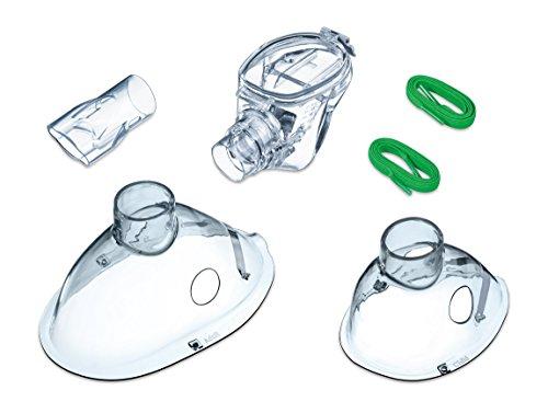 Beurer IH 55 Yearpack, Zubehör zum Inhalator mit Schwingmembran-Technologie, desinfektionsfähig, Vernebler, Mundstück, Erwachsenenmaske, Kindermaske