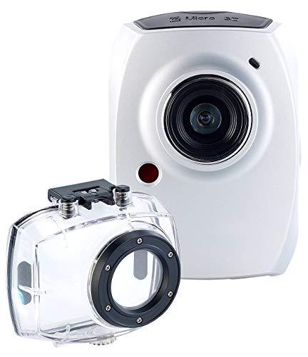 Somikon Mini Sport Cam: Full-HD-Action-Cam DV-1200 mit Spezial-Software & Zubehör-Set (Action Camera)