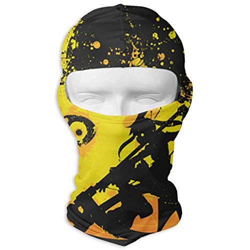 Xlhdxmp Soul Eater Moon Dance Balaclava Face Mask Helmet Liner Protection for Tactical Motorcycle Cycling Hunting Hiking , Protective Hat for Women Men