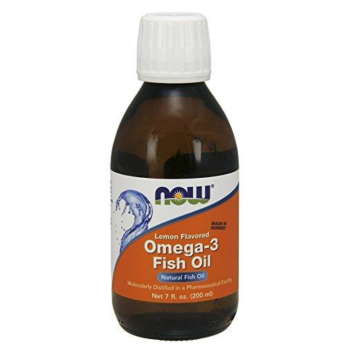 Now Foods Omega-3 Fish Oil Liquid, 200 ml