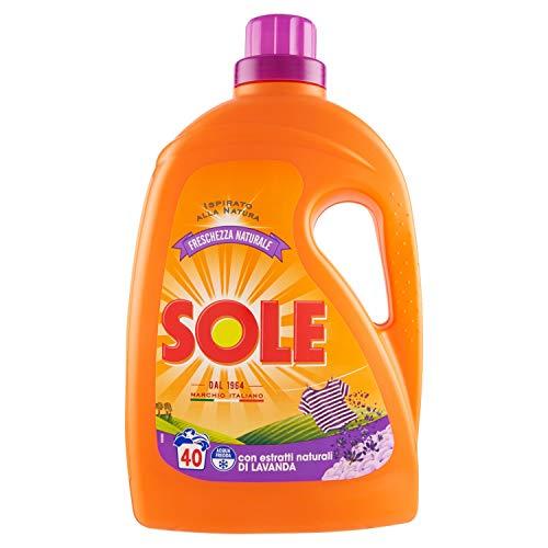 Sole Detersivo Liquido Per Lavatrice, Freschezza Naturale, 40 Lavaggi - 2040 g