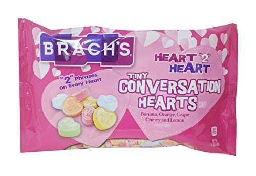 Brach's Small Conversation Hearts, 16oz Bag
