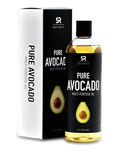 Pure Avocado Oil for Hair, Skin, Aromatherapy, Massage & More ~ 100% Natural and Non-GMO Project...