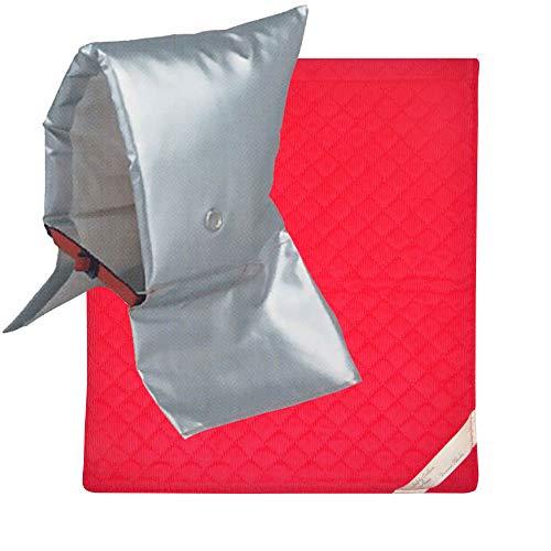 頭巾 & カバー セット [ 小サイズ ピンク ] セーフティクッション [ EJ ]【 日本防炎協会認定 】防災頭巾