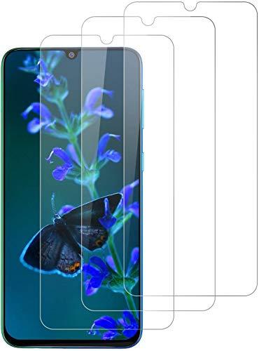DOSNTO [3 Stück Panzerglasfolie für Samsung Galaxy M30s/A30s/M31/M21/A50, 9H Härte Panzerglas Displayschutzfolie, Anti-Kratzen, Anti-Öl, Anti-Bläschen, Hülle Freundllich Schutzfolie
