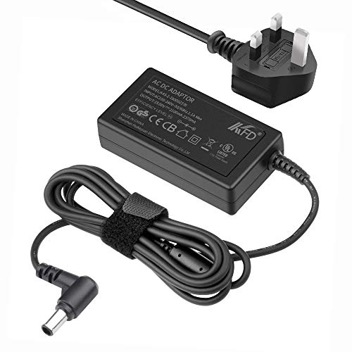 KFD 19V 2.1A 2.37A Power Supply Adapter for LG Electronics 19'20'22'23'24'27'Monitor LG Flatron IPS236V E2351T E2750VR E2290T E2360T E2350T E2242C 24EN33TW 25UW64 27MP33HQ ADS-40FSG-19 monitor Charger