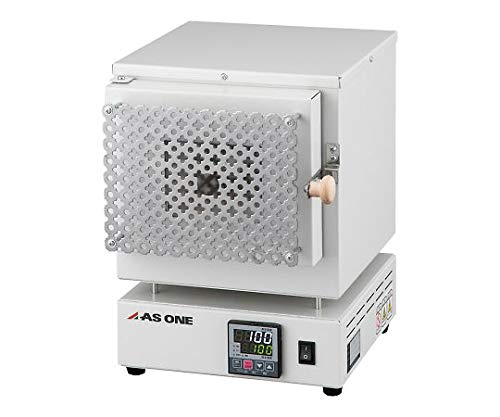 アズワン エコノミー電気炉 窓付き プログラム機能無 ROP-001W