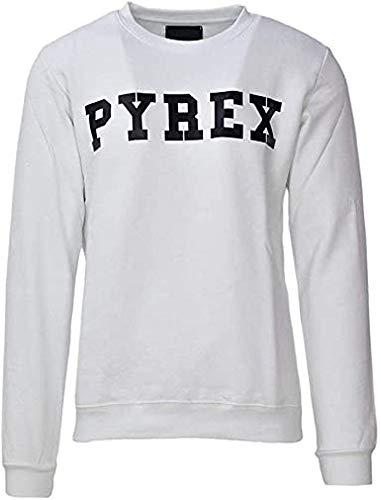 Pyrex Felpa Uomo Colore Bianco Modello 34203 (S)