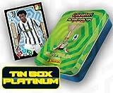abj Latta Tin Box Platinum ADRENALYN 2021 PANINI Contiene 15 Cards Tempi supplementari + 10 Cards Platinum