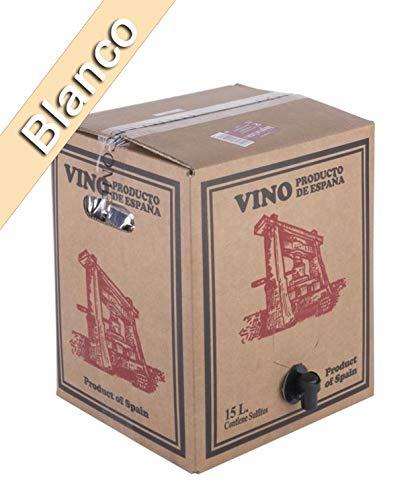 Bag in Box 15L Vino Blanco Joven Bodega Los Corzos