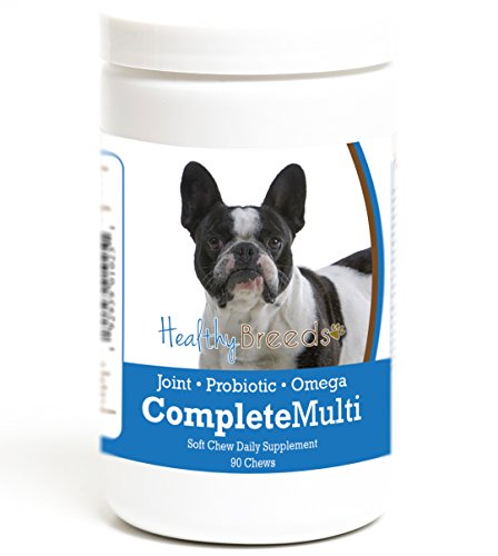 Healthy Breeds French Bulldog All in One Multivitamin Soft Chew 90 Count