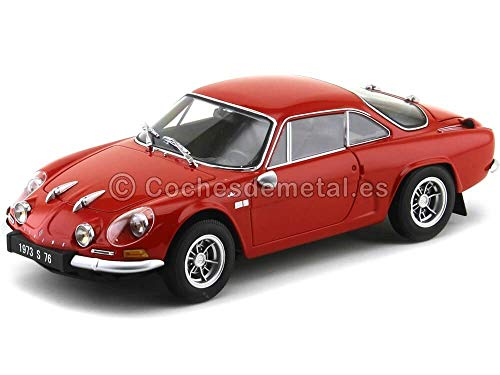 Kyosho 1972 Alpine Renault A110 1600S Rojo 08484R