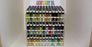Akim's Body Oil For Men (Pack of 6 of mixed 0.33 fl. oz Body oil) (Male Body Oil Scent Pack #1) by Akim's Body Oil