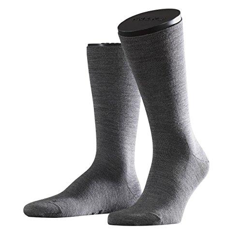 Falke Functional Herren Socken Sensitive Berlin 3er Pack, Größe:43-46;Farbe:Dark Grey (3070)