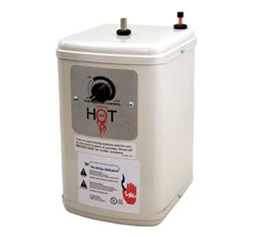 Whitehaus WH-TANK Forever Hot 7-Inch Heating Tank, No Finish