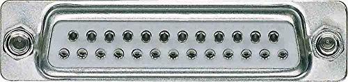 Merten 465025 D-Subminiatur-Buchsenleiste, 25-polig