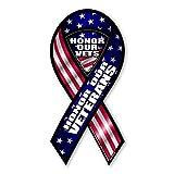 Honor Our Veterans 2-in-1 Mini Ribbon Magnet