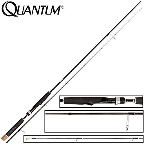 Quantum Vapor Detector Micro Jigging 240cm 7g - Ultra Light Rute Zum Leichten Spinnfischen auf Barsche & Forellen, Barschrute