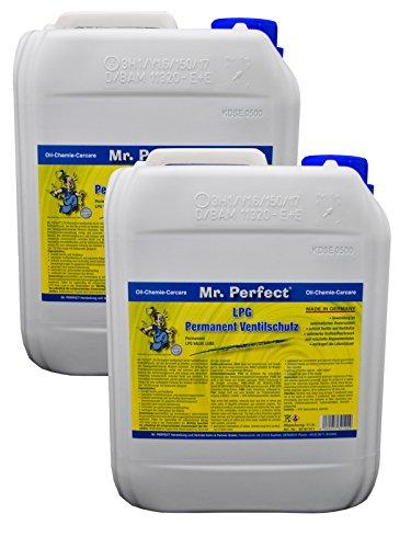 Mr. Perfect® LPG Permanent Ventilschutz, 2 x 5 Liter - Gassystem-Schutz vor Korrosion und Verbrennungsrückständen