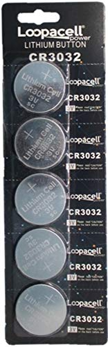 Loopacell CR3032 CR 3032 Lithium 3V 5 Batteries