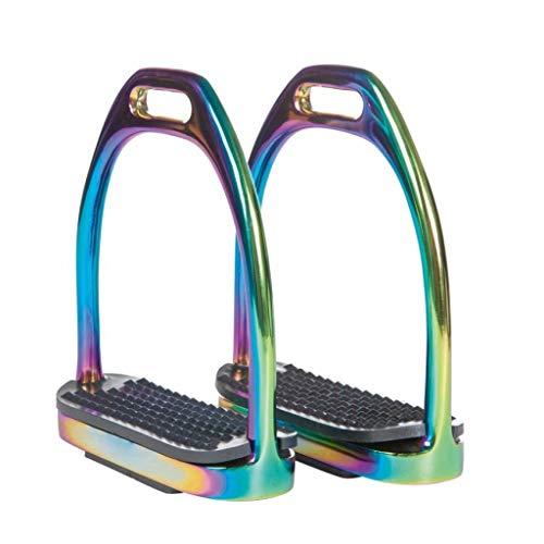HKM 4057052415425 Steigbügel Aus Edelstahl -Rainbow, Per Paar0000 Farbe Ist Nicht Relevant10